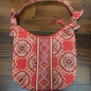 Vera Bradley Olivia Paprika Small Hobo Handbag